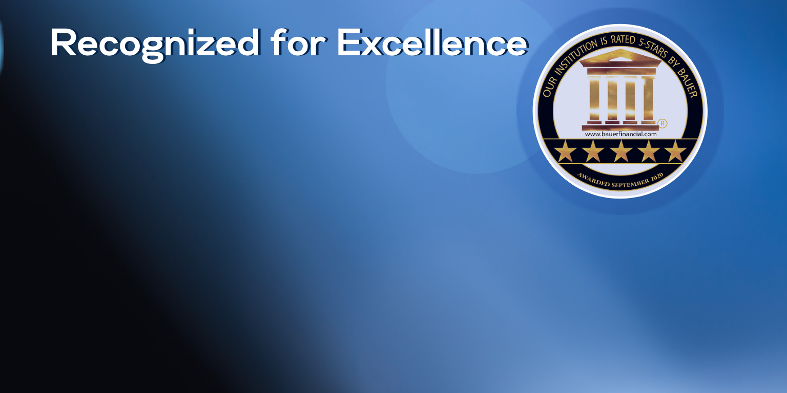Recognized For Excellence